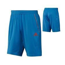adidas Herren Männer Barricade Bermuda Tennis kurze Hose Short blau