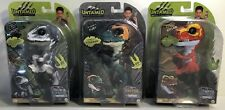 Fingerling Untamed Dinosaur Toy WowWee, Ghost Gray, Ripsaw & Fury  Lot of 3