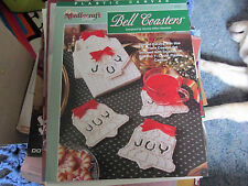 JOY BELL COASTERS IN PLASTIC CANVAS
