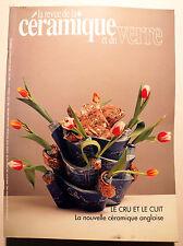 REVUE DE LA CERAMIQUE ET DU VERRE/N°86/1996/CHIHULY/REQUENA.ROUSSEAUX/STEEN KEP