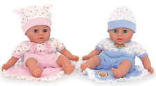 Puppen Zwillinge ca. 27 x 14 x 7 cm Spielpuppe Babypuppe Puppenkinder