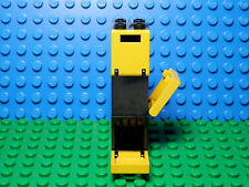 LEGOS  -  Set of 3 NEW Black Boxes, Containers, 2 X 2 X 2,  with Yellow Doors
