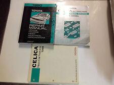 1990 Toyota Celica ALL TRAC 4WD ALL-TRAC Service Repair Shop Manual Set W EWD x