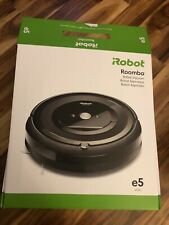 Opened  iRobot Roomba e5 Wi-Fi Connected Robot Vacuum - black NEW USED ONCE!