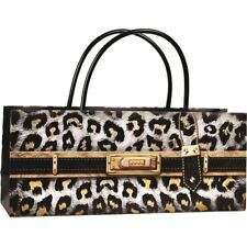 Ogilvies Designs - Gift Bag Box Horizontal Bag Leopard