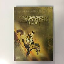 The Man From Snowy River 1 & 2 - Like New Condition - R4