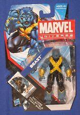 "Marvel Universe Beast 4"" Action Figure 2011 Hasbro Moc Avengers X-Men 1/18th"
