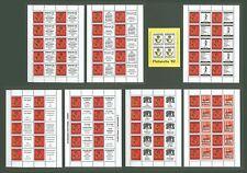 Block J56 Special Sheet 1982 Germany Hannover Philately (8 pcs)