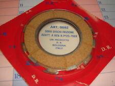 serie 3 dischi frizione guarniti per Piaggio Vespa PX 125 150 marca DR cod 0092