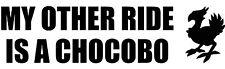 FINAL Fantasy I MIEI ALTRI Ride è un adesivo decalcomania in vinile Chocobo per auto (2)