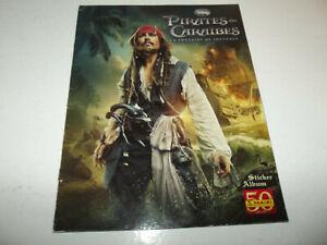 Album Panini - Pirates des Caraibes : La fontaine de jouven  incomplet + poster