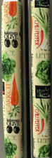 Refrigerator Oven Door Padded Handle Covers Fresh Veggies Set of Two
