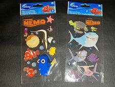 Lot:2 finding Nemo Scrapbook Stickers