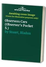 Observers Cars (Observer's Pocket S.) by Stuart, Bladon Paperback Book The Cheap