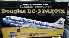 Doyusha 1/100 Douglas DC-3 Dakota SMB Stage Lines Propliner Model Aircraft Kit