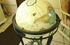 """Pre-owned Replogle16"""" Diameter World Globe World Classic Series With Metal Stand"""