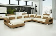 Solid Wood Modern Corner/Sectional Sofas