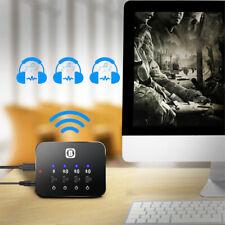 3in1 Portable Bluetooth Splitter Audio Empfänger Transmitter Multi-point Adapter