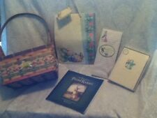 Beatrix Potter Peter Rabbit Collection Gift Bag Card Garden Bunny Painted Basket
