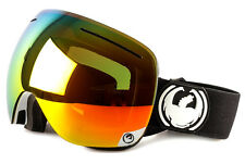 NEW 2016 Dragon X1 Goggles-Inverse Black-Red Ion+Yellow Blue-SAME DAY SHIPPING!