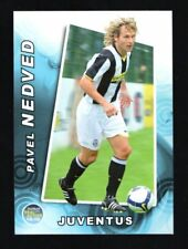 figurina CARD REAL ACTION 2008 PANINI JUVENTUS NEDVED