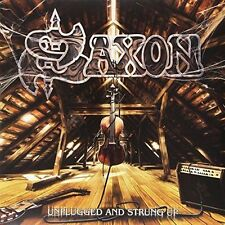 SAXON - UNPLUGGED AND STRUNG UP + HEAV NEW VINYL RECORD