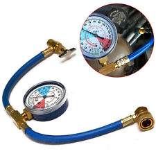 Universal Car Air Conditioning AC Refrigerant Recharge Hose Pressure Gauge R134A