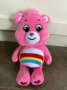 "Care Bears Cheer BEAR 2020 Orange Plush 10"" Care Bear"