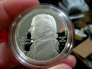 2005-P Chief Justice John Marshall UNCIRCULATED Silver Dollar PROOF Coin, GIFT