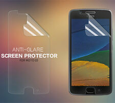 Matte Anti-glare Plastic Screen Protector for Motorola Moto G5