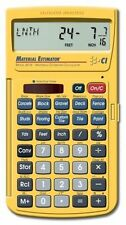 Materials Estimating Calculator Construction Building Contractor Multiple Format