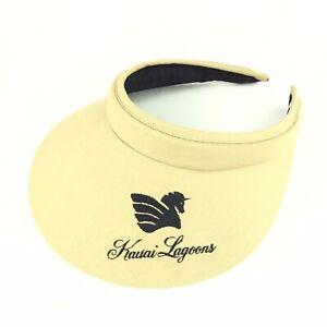 Kauai Lagoons (Hawaii Resort Hotel) Sun Visor Hat Womens Size Cotton
