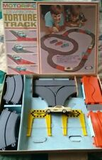 Ideal Motorific Dearborn Torture Track Set Complete with Mustang car tests 1965