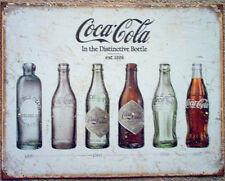 COKE- Bottle Evolution #1839 Man Cave Garage Rec Room