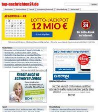 Webprojekt | top-nachrichten24.de | Geld verdienen | ähnlich Google News