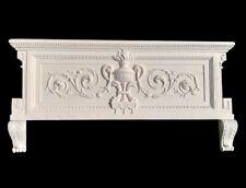 Magnifique fronton, dessus de porte, cheminée, miroir, style XVIIIè siècle.