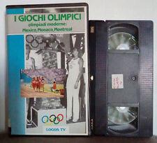 VHS Ita Documentario I GIOCHI OLIMPICI Parte IV ex nolo no dvd(VHS18)