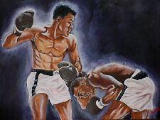 Cassius Clay v Sonny Liston by David Putland - A3 Limited edition Prints