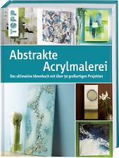 Abstrakte Acrylmalerei  Topp Buchreihe