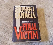 Final Victim by Stephen J. Cannell (1997 Paperback)