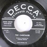 50'S Decca Nos 45 Gordon Jenkins' Seven Dreams - The Caretaker / The Pink Houseb