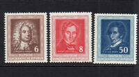 East Germany Set of 3 Stamps c1952 Unmounted Mint Never Hinged (8178)