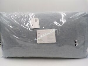 Pottery Barn Belgian Flax Linen Handcrafted Quilt Comforter Twin Chambray #9999C