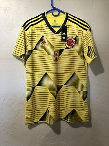 Colombia  Home Jersey #9 FALCAO Medium Adidas Soccer Football Nwt 2019/20