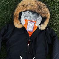 Everest Parka XS S M L XL Marcus Vilim Jacket Coat Winter Fur Sheepskin N3B ma1