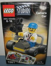 Lego 1361 Studios Camera Car RARE NEW Sealed 2001 19 Pieces