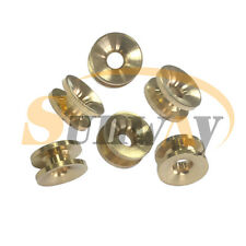 6pc 2 Line Strimmer Head Brass Eyelets for Brushcutters Some Stihl Honda Trimmer