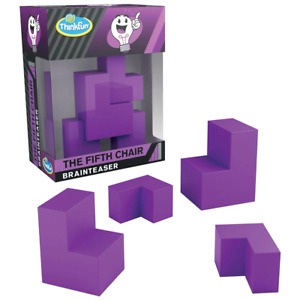 ThinkFun The Fifth Chair Brainteaser Puzzle Game NEW