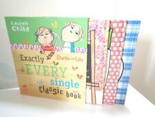 CHARLIE AND LOLA - SET OF 3 LARGE HARDBACK BOOKS IN OUTER COVER