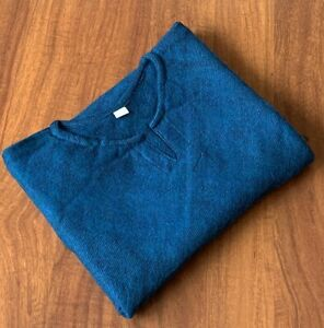 Women's Yak Wool Poncho - Warm Pullover Winter Body Wrap Ladies Aqua Blue Cape